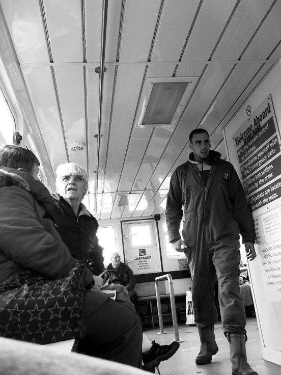 20-09-12 FLEETWOOD. The Wyre Estuary Ferry, The Wyre Rose E