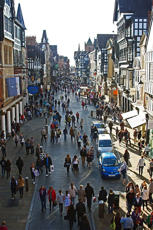 04/10/14  CHESHIRE, Chester. Eastgate Street.