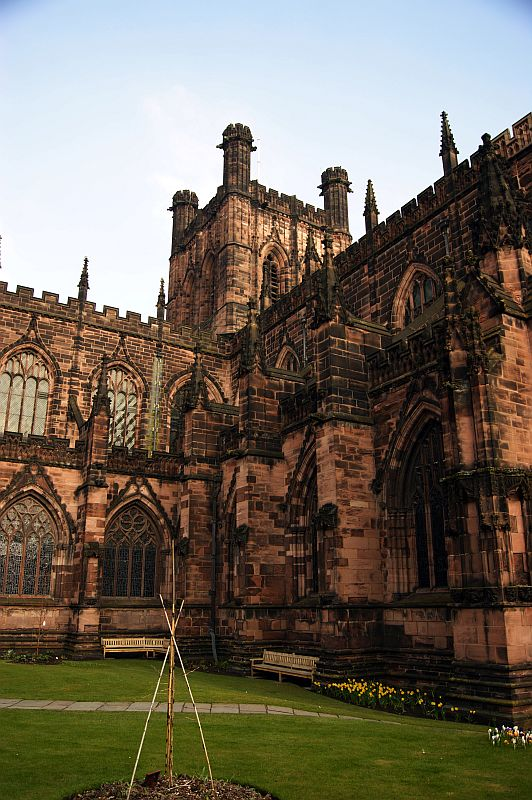 18/03/13 CHESTER. The Cathedral