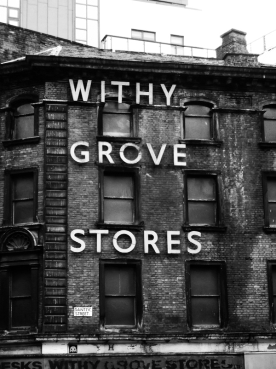 30-09-12 MANCHESTER. Withy Grove Stores Dantzic Street.