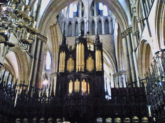Lincoln cathedral organ