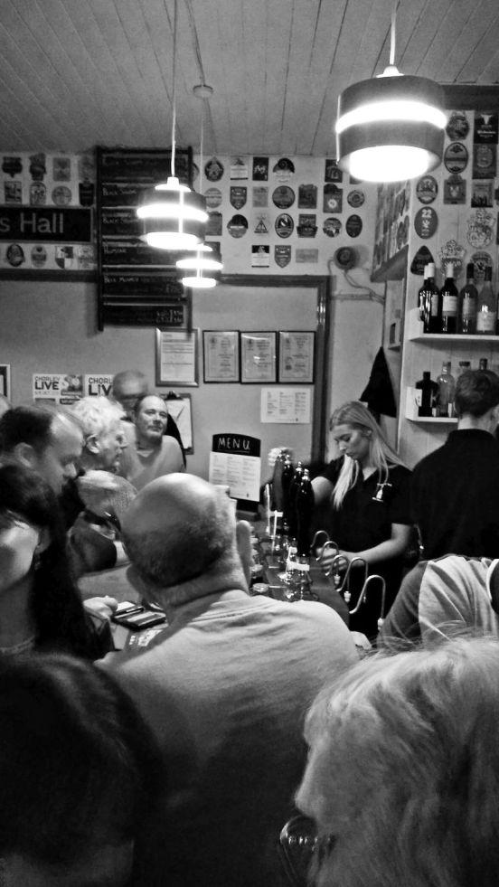 06/10/18 CHORLEY LIVE. The Shepheards Hall  Ale House.
