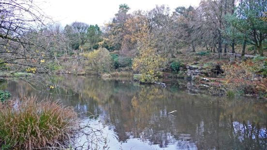 11/11/18 RIVINGTON TERRACED GARDENS. The Japanese Pool.