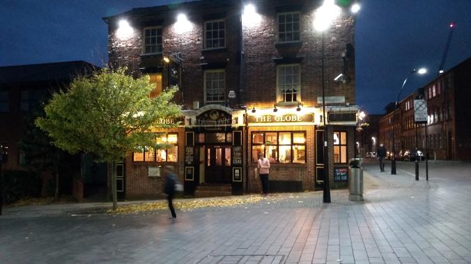 03/11/18  SHEFFIELD The Globe Howard Street.