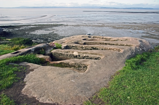 22/09/18  MORECAMBE. Heysham Head. The Rock Cut Graves.