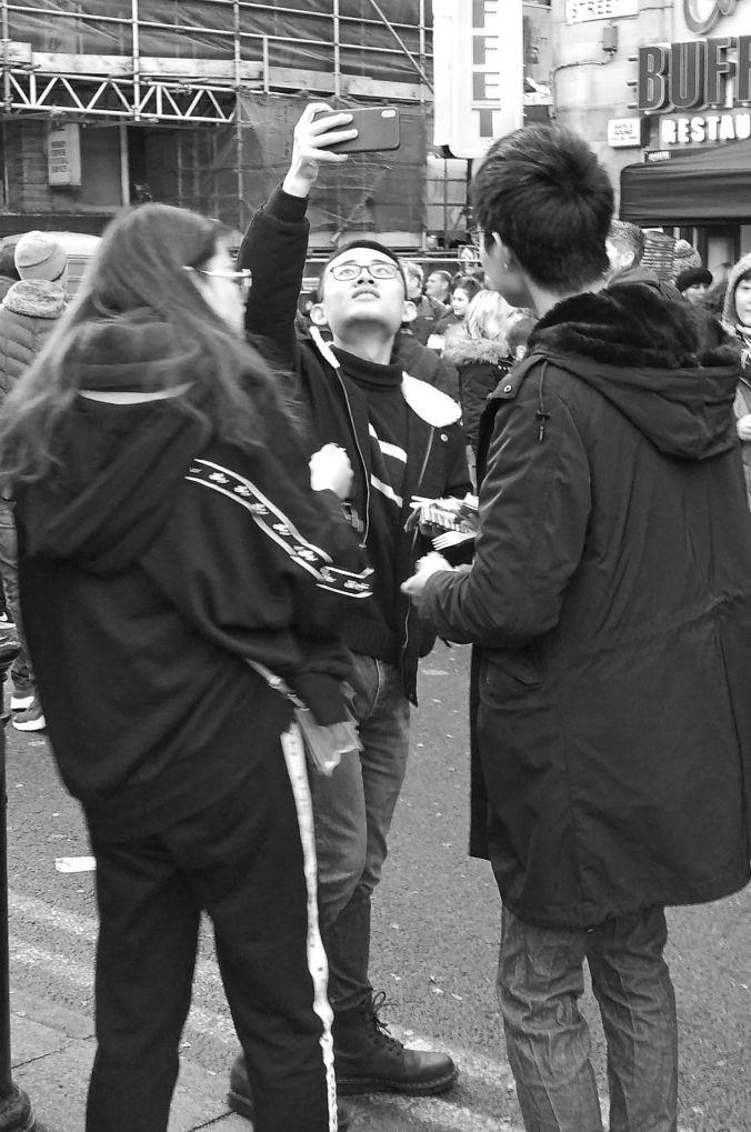 10/02/19  MANCHESTER. Nicholas Street. Selfie Time.