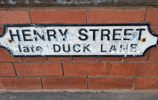 17-03-19 LYTHAM. Henry Street - Late Duck Lane.