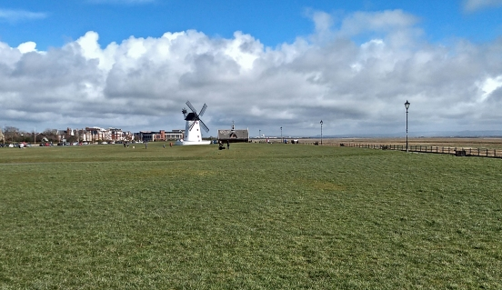 17-03-19 LYTHAM. The Windmill On The Green.