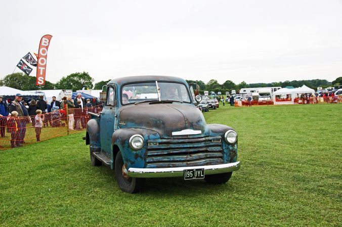 01/06/19  HESKIN VINTAGE RALLY.   Chevrolet Step Side PickUp Tru