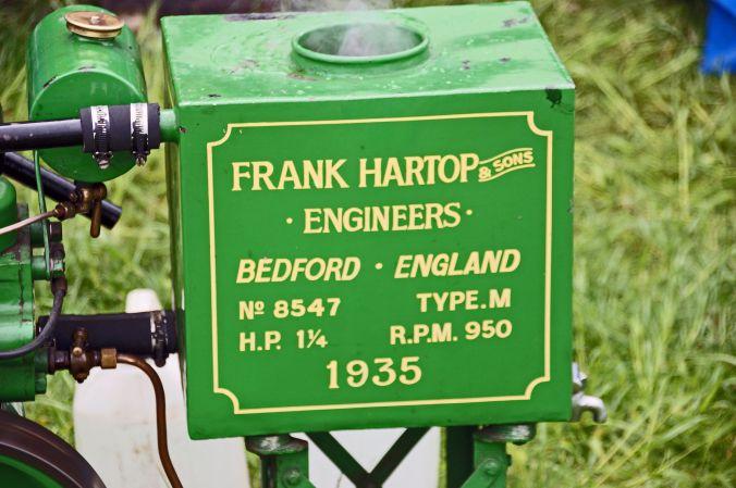 01/06/19  HESKIN VINTAGE RALLY.  Frank Hartop Pump.