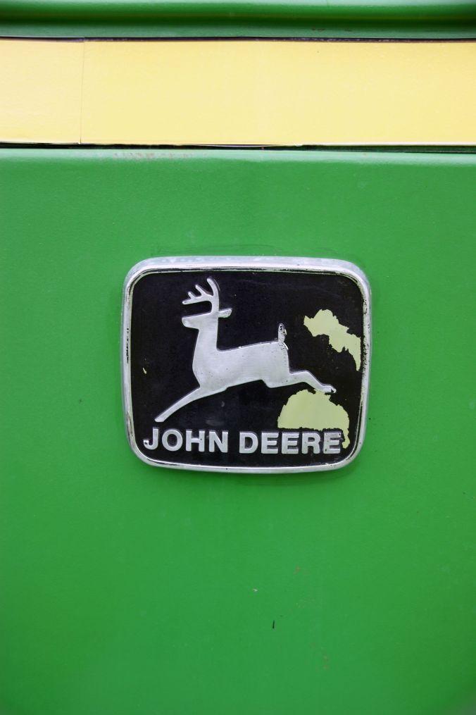 01/06/19  HESKIN VINTAGE RALLY.  John Deere Logo.