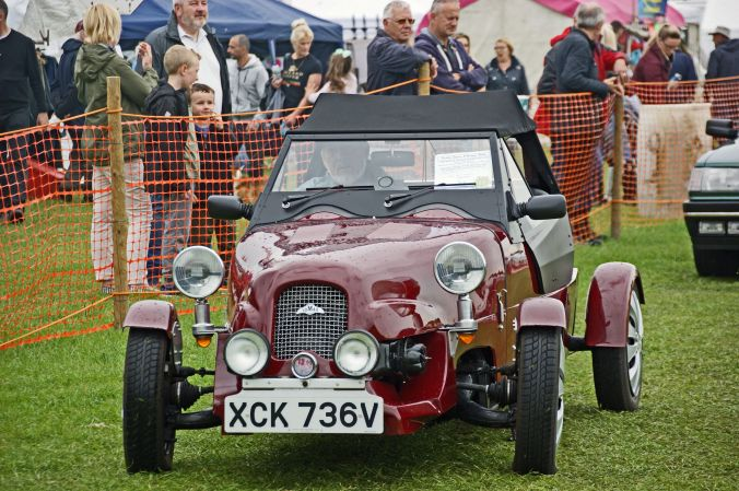 01/06/19  HESKIN VINTAGE RALLY.   Lomax Two Seater Convertable.
