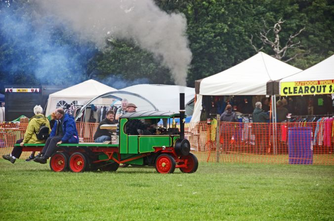 01/06/19  HESKIN VINTAGE RALLY.  Model Steam Lorry.