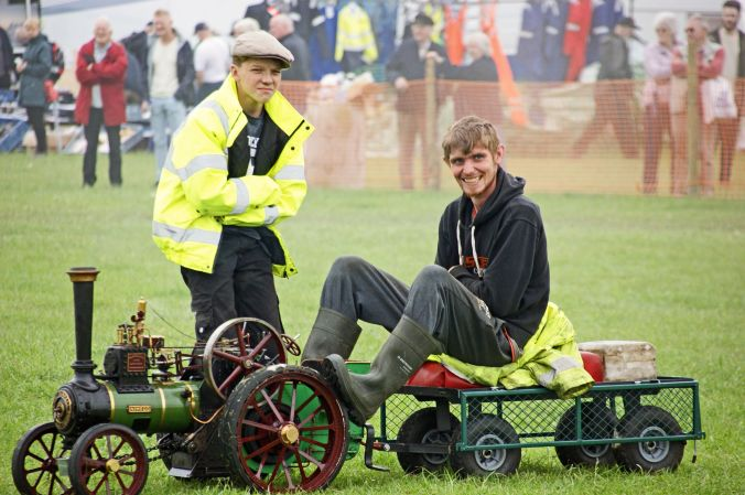 01/06/19  HESKIN VINTAGE RALLY. Model Burrell Traction Engine 'N