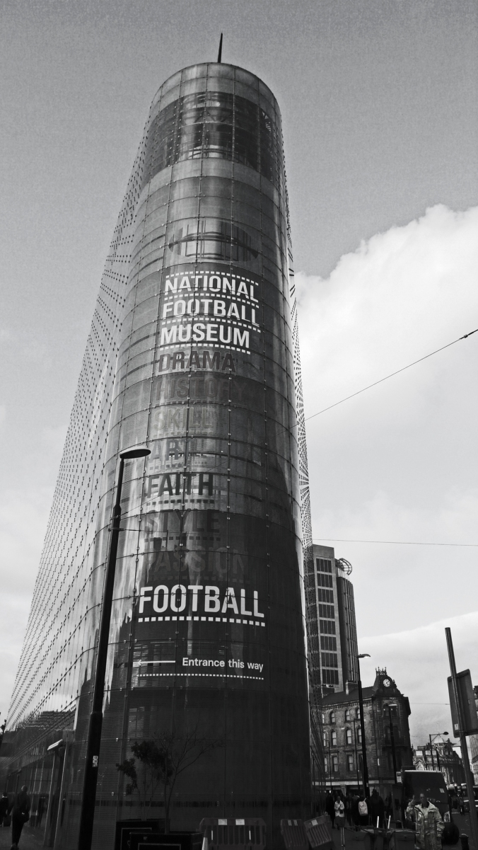 06/10/19  MANCHESTER. National Football Museum.
