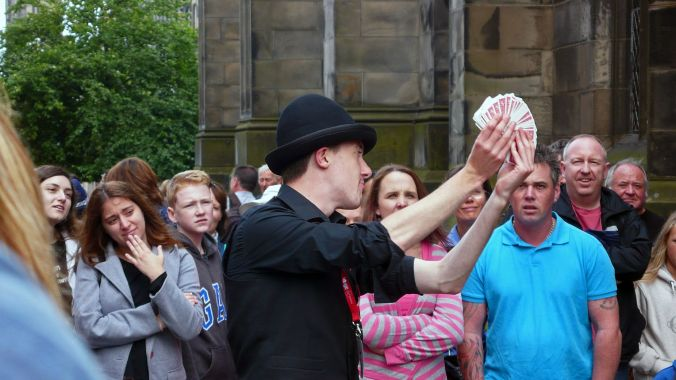 17/08/19  EDINBURGH FRINGE. The Quickness of the Hand.