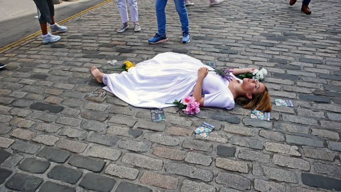 17/08/19  EDINBURGH FRINGE.  Ophelia Is Also Dead.