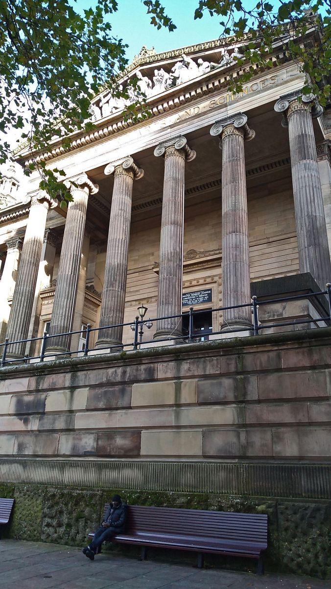 27/10/19.  PRESTON. The Harris Museum & Library.
