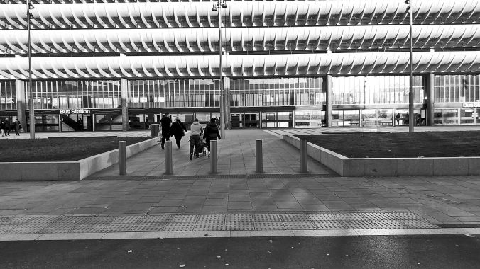 27/10/19.  PRESTON. The Bus Station.