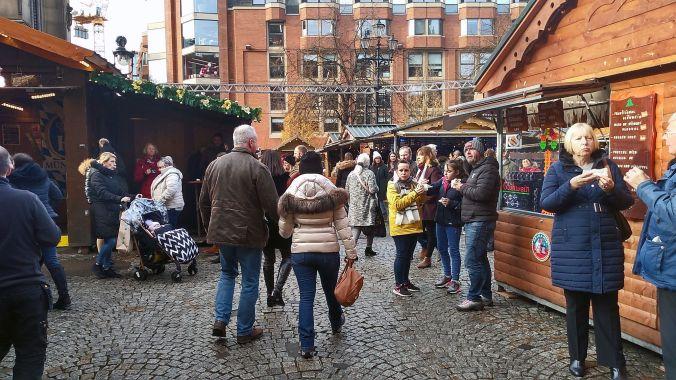13/11/19  MANCHESTER. Albert Square Chritmas Market.
