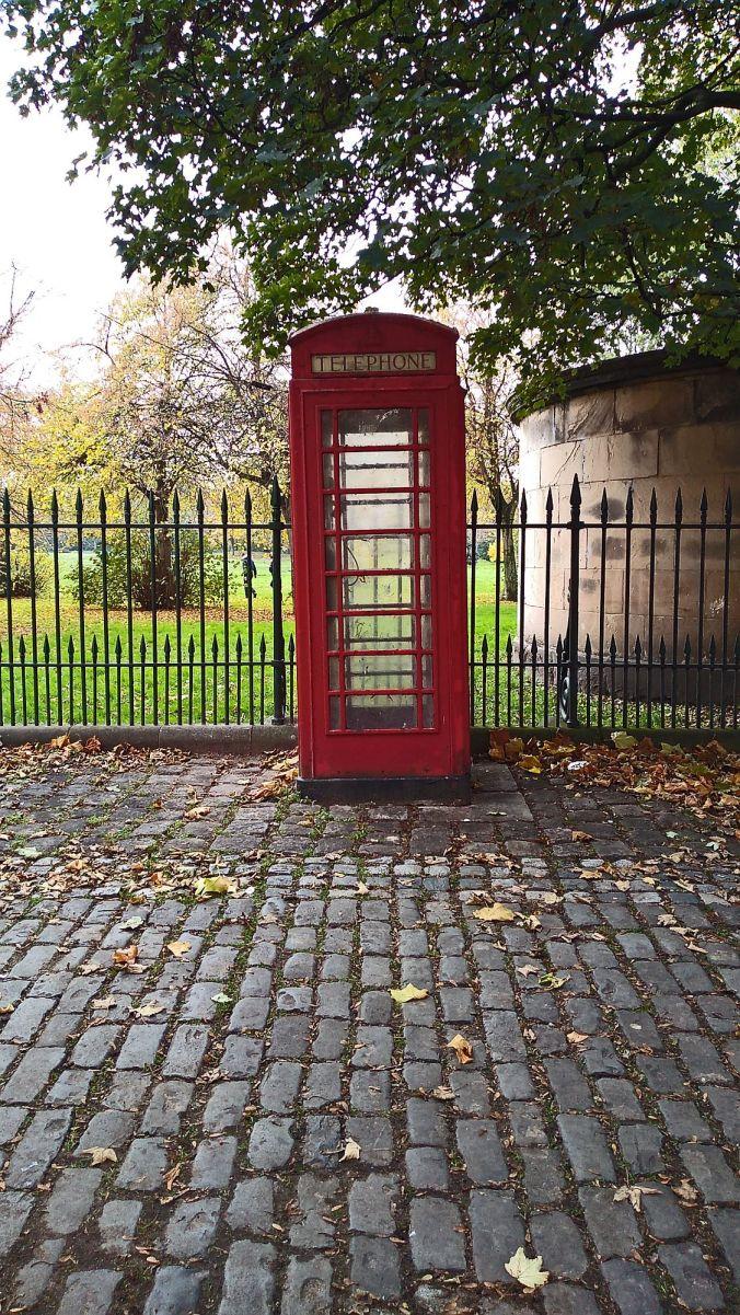 31/10/19  BIRKENHEAD. Birkenhead Park. Telephone Box.
