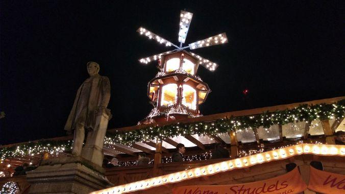 13/11/19  MANCHESTER. Albert Square Christmans Market. Carousel.
