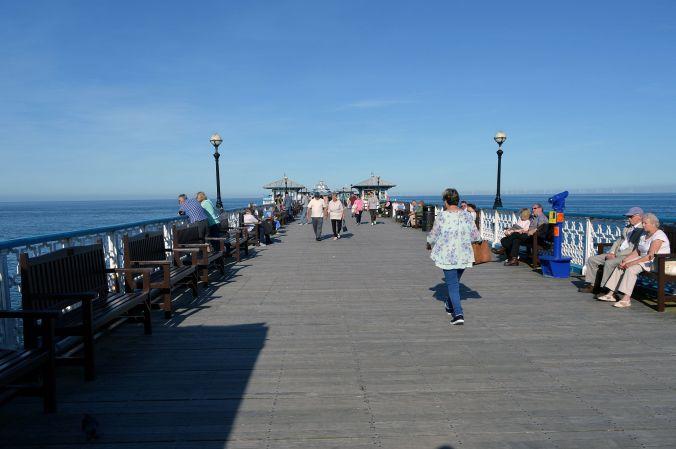 19/09/19  LLANDUDNO. The Pier.