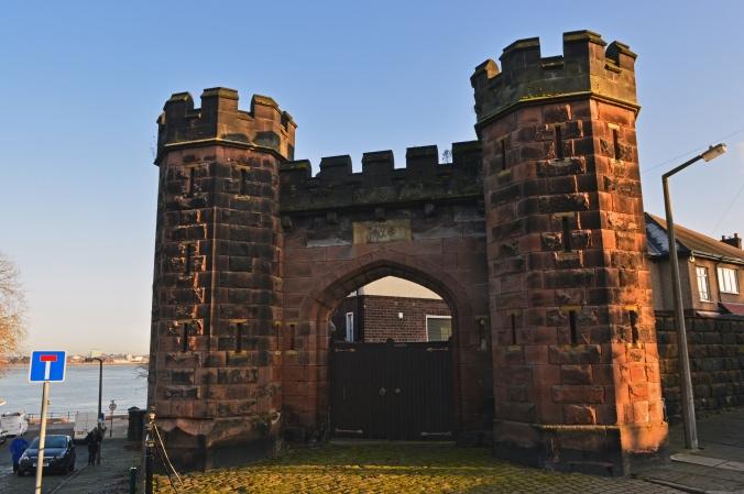 30/11/19 NEW BRIGHTON.  Liscard Fort.