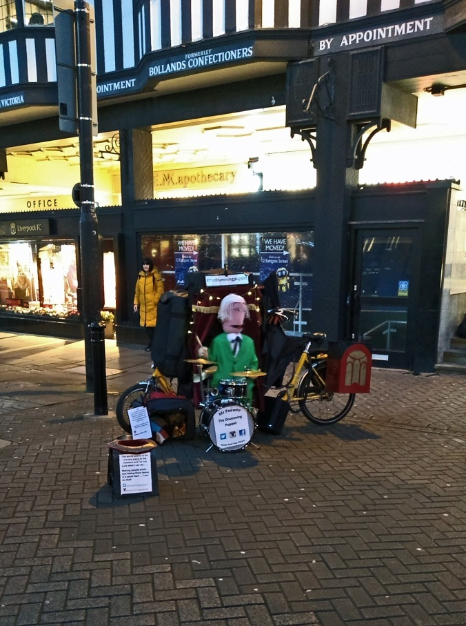 28/12/19  CHESTER. Northgate Street. Mr. Peewee.