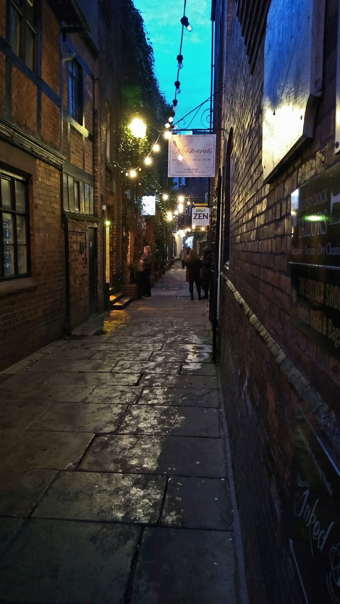 28/12/19  CHESTER. Godstall Lane.