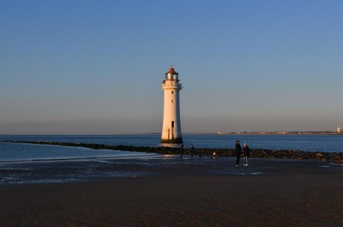 30/11/19 NEW BRIGHTON.  Perch Rock Lighthouse..