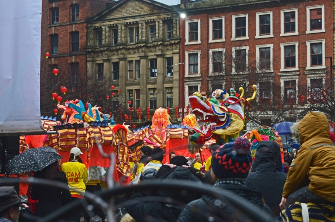 26/01/20  MANCHESTER. Chinese New Year. Nicholas Street & George