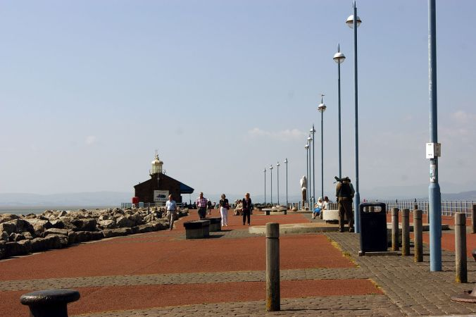 18/07/13 MORECAMBE. The Stone Jetty.