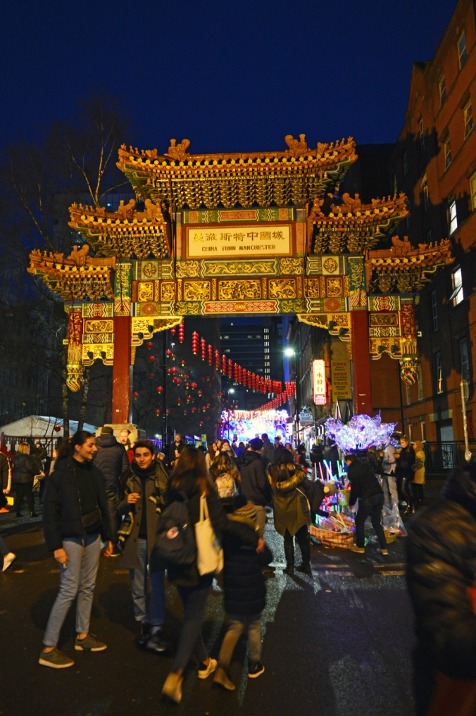 26/01/20  MANCHESTER. Chinese New Year. The Chinese Arch.