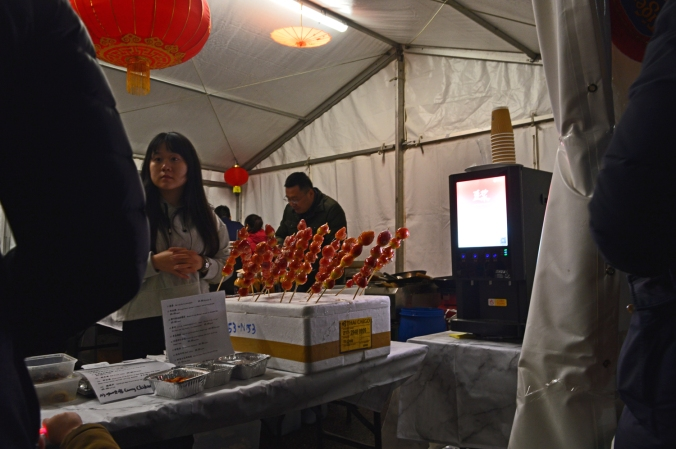 26/01/20  MANCHESTER. Chinese New Year. Sticky Food.