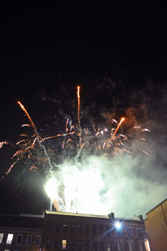26/01/20  MANCHESTER. Chinese New Year. Fireworks.