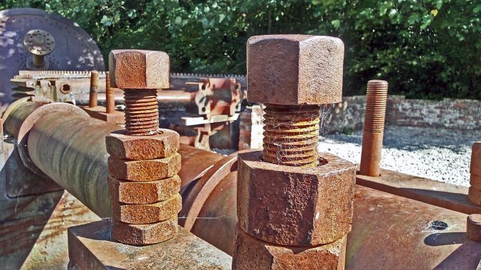 12/09/19  HOLYWELL. Greenfield Park. Old Bolts