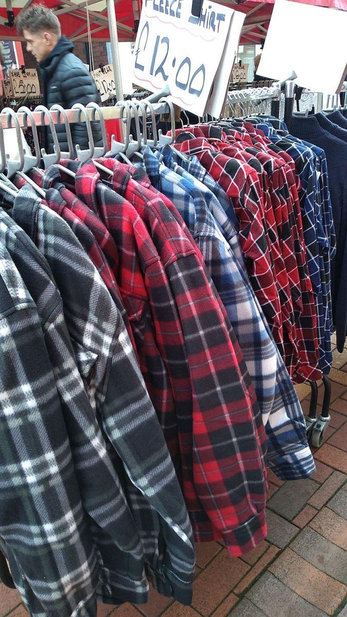 17/12/19  CHORLEY. Flat Iron Market.