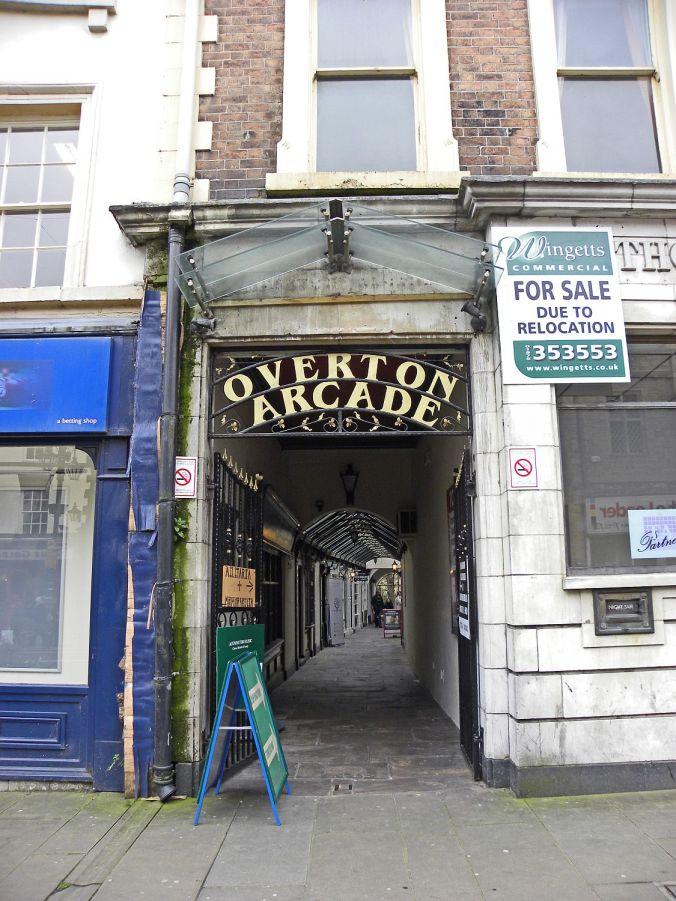 12/01/19 WREXHAM. Overton Arcade.