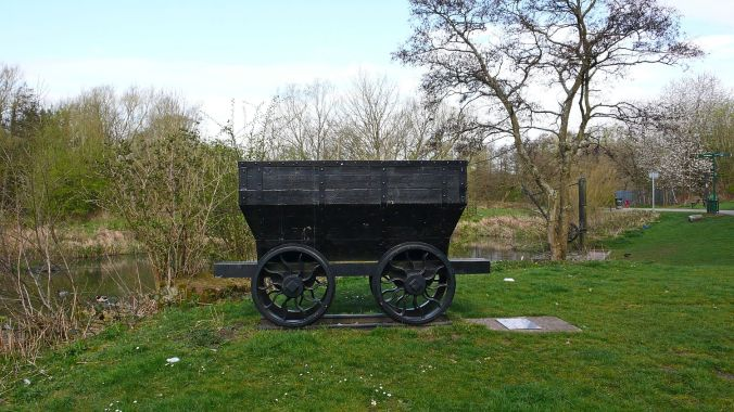 08/04/20  BLACKBROOK. Sankey Valley Park. Cauldron Wagon.