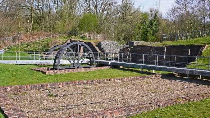 08/04/20  BLACKBROOK. Sankey Valley Park. Slitting Mill.
