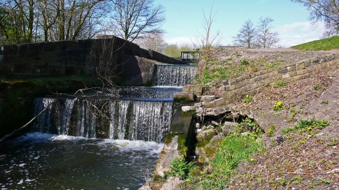 08/04/20  BLACKBROOK. Sankey Valley Park. Old Locks.