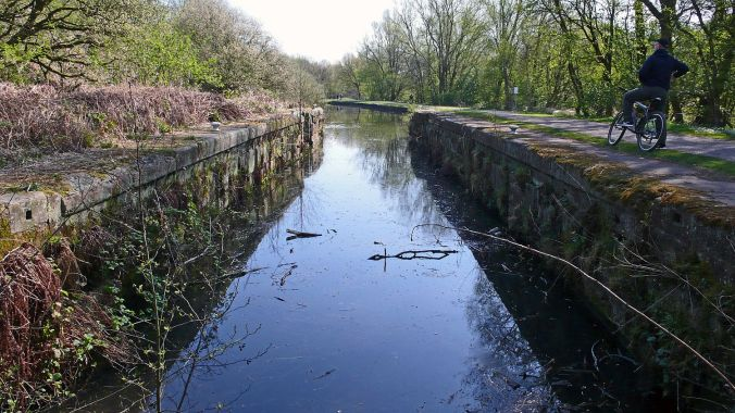08/04/20 EARLESTOWN. Sankey Valley Park. Old Lock.