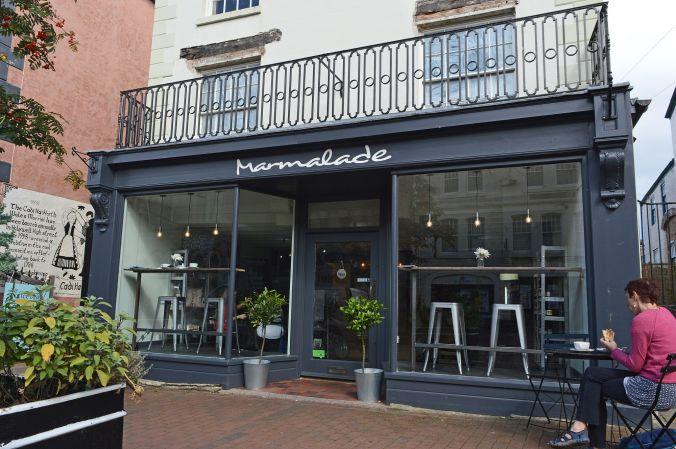 12/09/19  HOLYWELL. Marmalade Cafe.