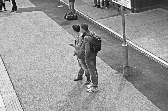 18/08/13 PITLOCHRY. Railway Station.