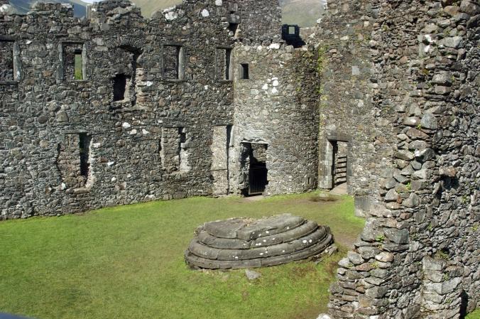 21-08-14 LOCH AWE. Kilchurn Castle.