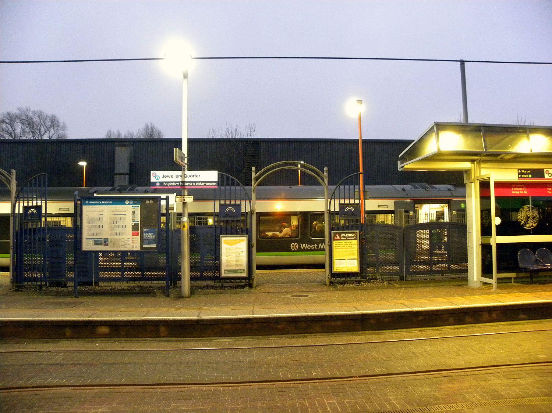 19/01/19 BIRMINGHAM. Jewelry Quarter West Midlands Railways Whit
